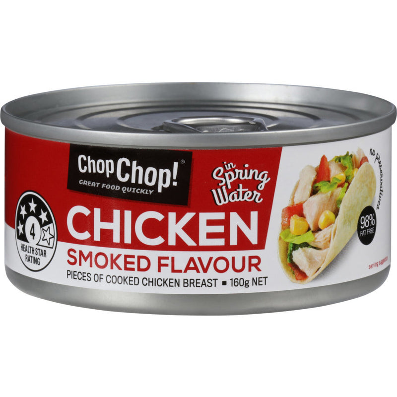 Chop Chop: Chicken Chunks - Smoked Flavour 85g (12 Pack)
