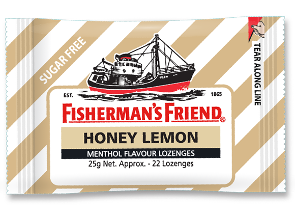 Fishermans Friend: Honey Lemon (25gm)