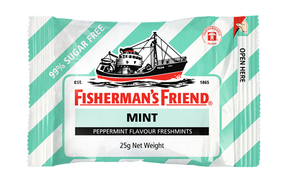 Fishermans Friend: Fresh Mint - Sugar Free (25gm)