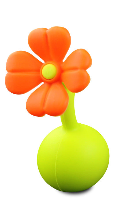 Haakaa: Silicone Breast Pump Flower Stopper Petal - Orange