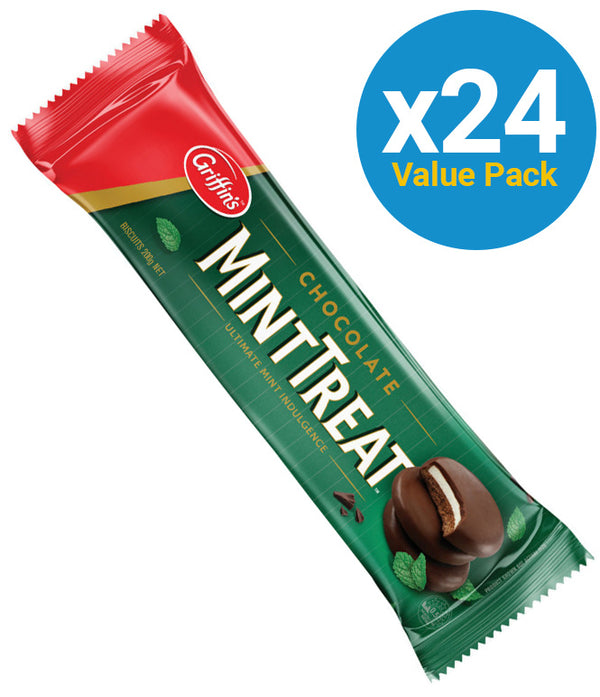 Griffins Mint Treats 200g (24 Pack)