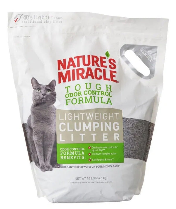 Natures Miracle Lightweight Clumping Clay Litter (4.5kg)