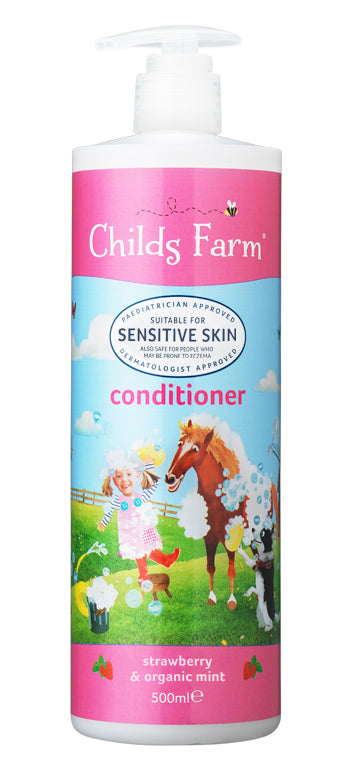 Childs Farm: Conditoner - Strawberry and Mint (500ml)