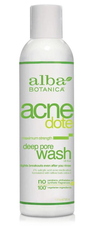 Alba Botanica - AcneDote - Deep Pore Wash (177ml)