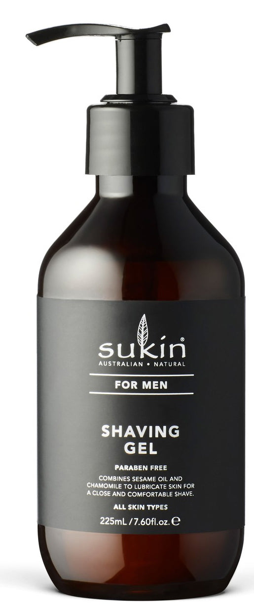 Sukin for Men Shaving Gel (225ml)