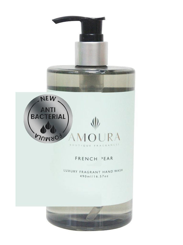 Amoura: Fragranced Antibacterial Hand Wash - French Pear