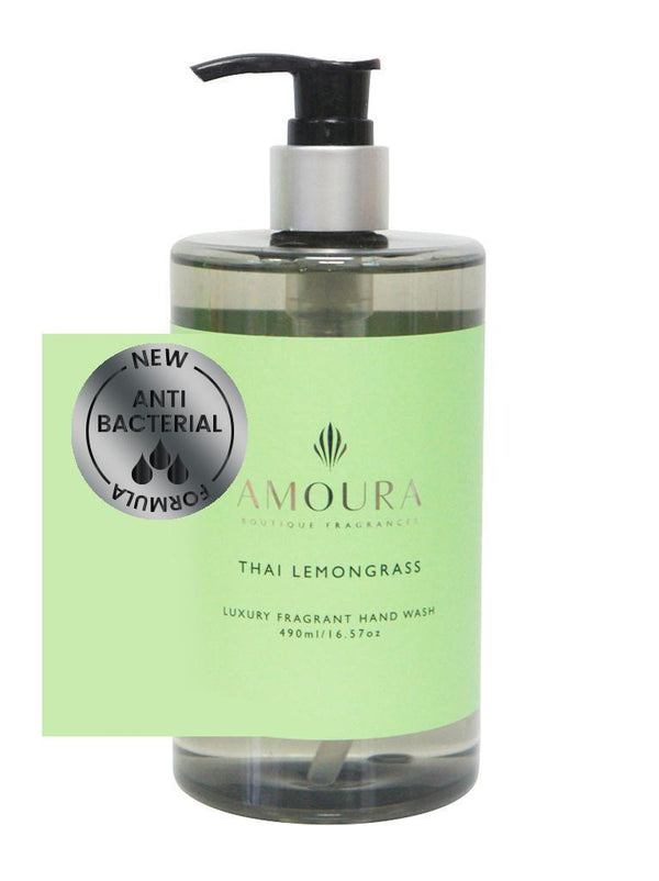 Amoura: Fragranced Antibacterial Hand Wash - Thai Lemongrass