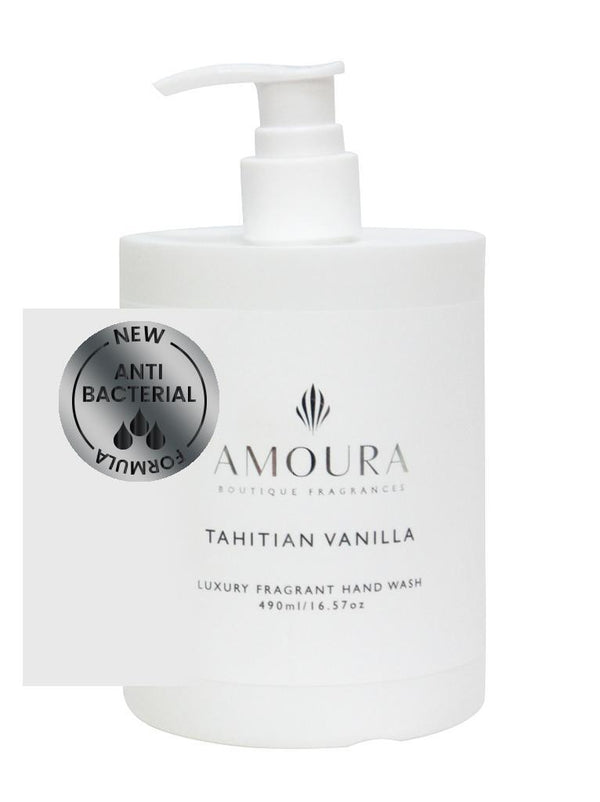 Amoura: Fragranced Antibacterial Hand Wash - Tahitian Vanilla