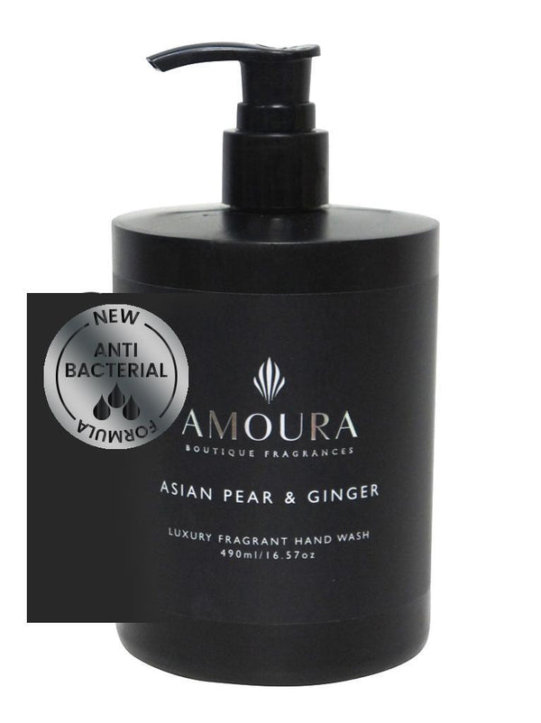 Amoura: Fragranced Antibacterial Hand Wash - Asian Pear & Ginger