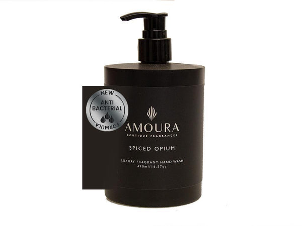 Amoura: Fragranced Antibacterial Hand Wash - Spiced Opium