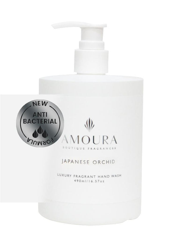 Amoura: Fragranced Antibacterial Hand Wash - Japanese Orchid