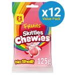 Skittles Fruit Chewies Pouch (125g x 12pk)
