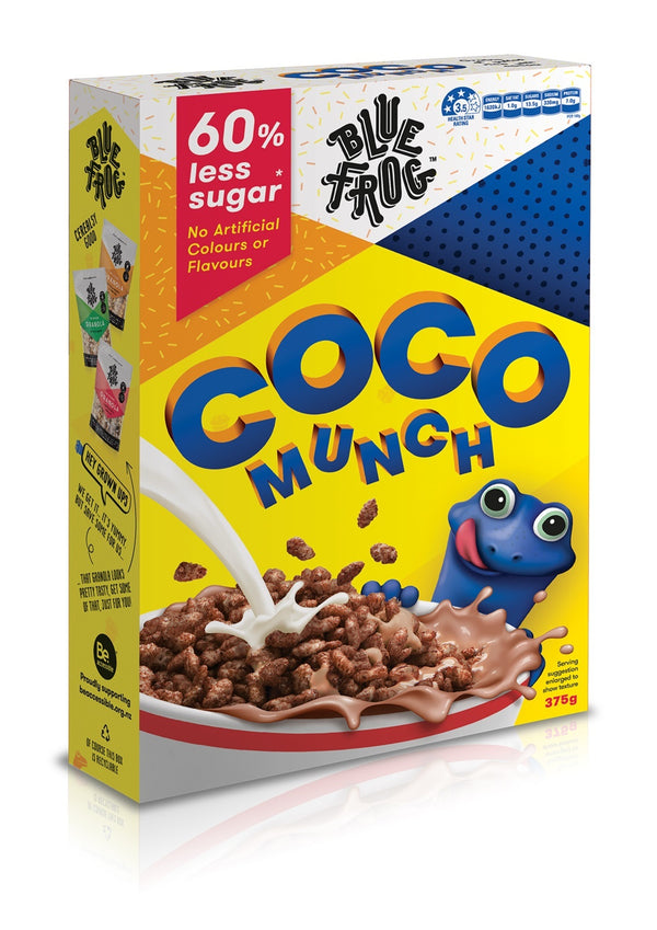Blue Frog - Coco Munch Cereal (6 x 325g)