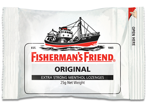 Fishermans Friend: Original Extra Strong Menthol (12 x 25gm)