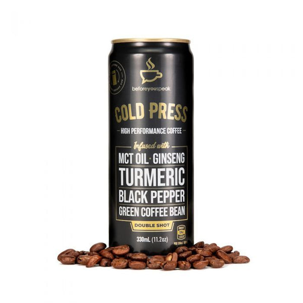 Before You Speak Cold Pressed High Performance Coffee