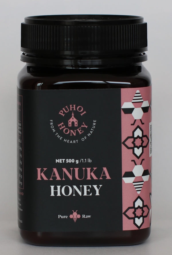 Puhoi Honey: Kanuka Honey - Pure & Raw (500g)