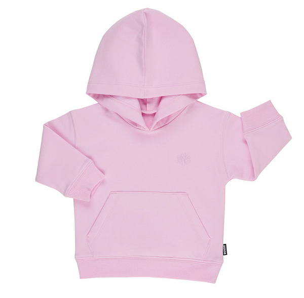 Bonds: Stretch Sweats Hoodie - Daydream Blush (12-18 Months)