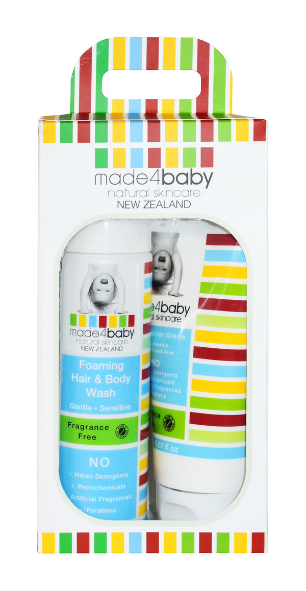 Made4Baby: Baby Essential Pack (Organic Citrus)