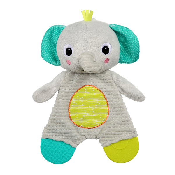 Bright Starts: Snuggle & Teethe - Plush Teether (Elephant)