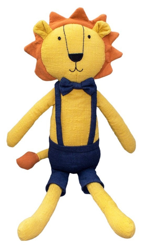 Lily & George: Logan the Lion - Linen Plush