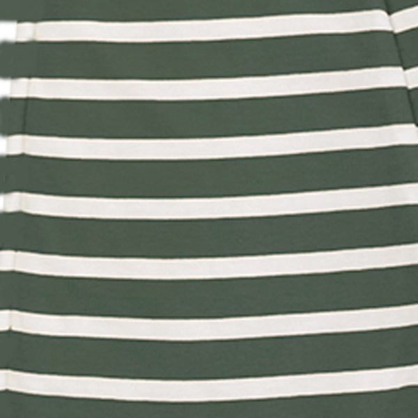 Woolbabe: Merino/Organic Cotton Swaddle/Blanket Fern Stripe