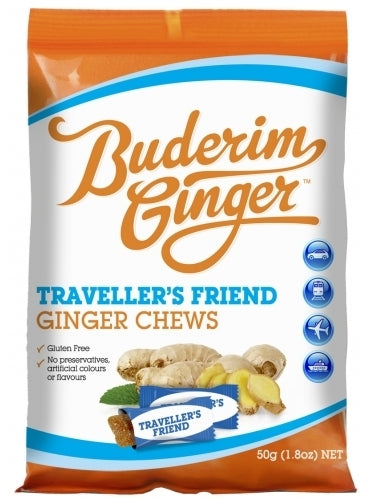 Buderim Traveller's Friend (50g) 12pk