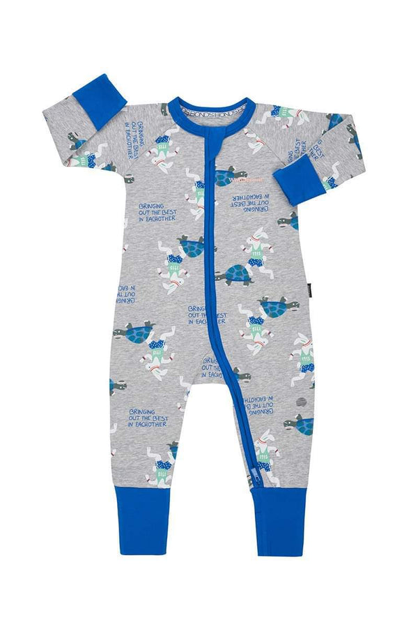 Bonds: Bringing out the best zip Wondersuit - 3-6 months