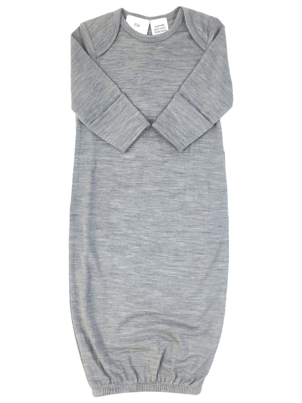 Babu: Merino Bundler Sleep Sack - Grey (New Born)