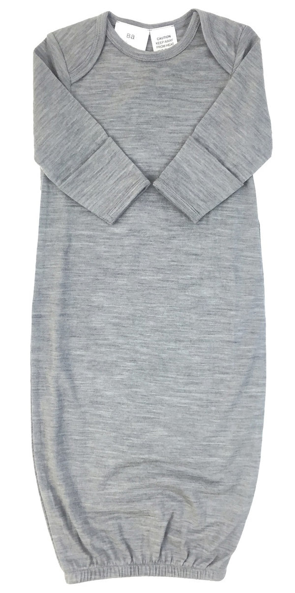 Babu: Merino Bundler Sleep Sack - Grey (0-3m)