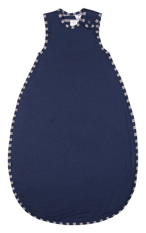 Babu: Merino Toddler Sleeping Bag - Navy Stripe (2-4 Years)