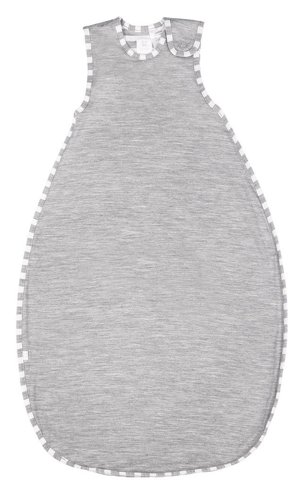 Babu: Merino Toddler Sleeping Bag - Grey Stripe (2-4 Years)