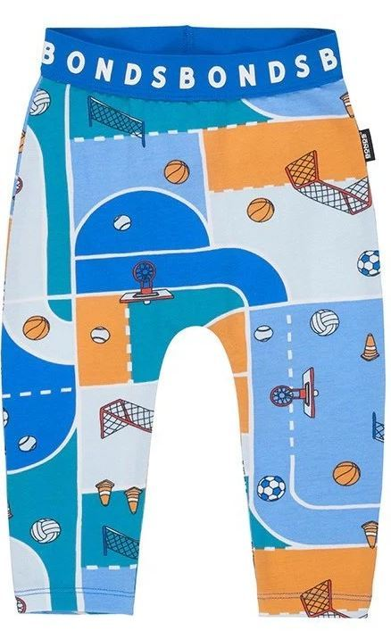 Bonds: Stretchy Leggings - Sport Village (6-12 Months)