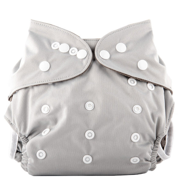 Little Genie: Reusable Nappies - Grey