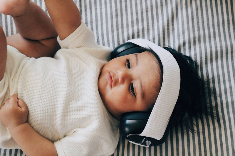 Em's for Kids: Baby Earmuffs - All blacks