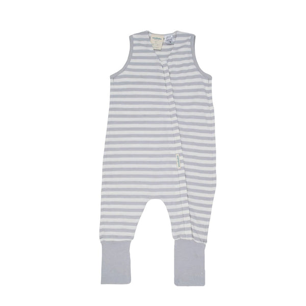 Woolbabe: 3-Seasons Sleeping Suit - Pebble (6-12 months)
