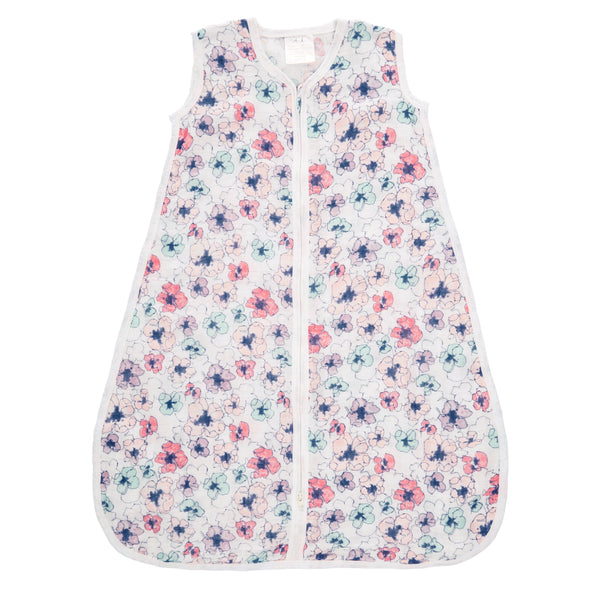 Aden + Anais: Classic Sleeping Bag - Trail Blooms Flora (M / 1 Tog)