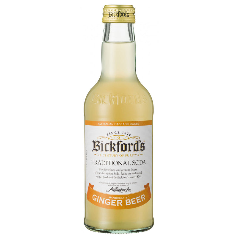 Bickfords Traditional Soda - Ginger Beer 275ml 24pk