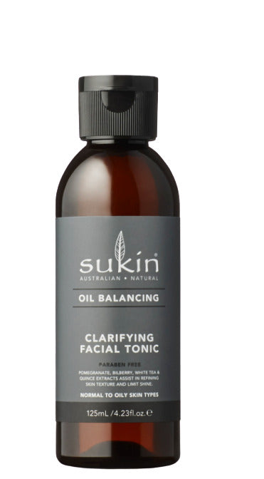 Sukin Oil Balancing Clarifying Facial Tonic (125ml)