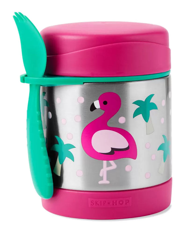 Skip Hop: Zoo Insulated Food Jar - Flamingo