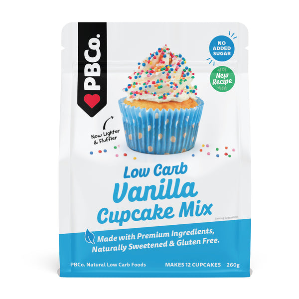 PBCo. Low Carb Vanilla Cupcake Mix 220g