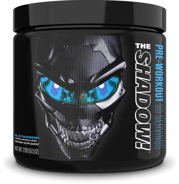 JNX Sports The Shadow! Pre-Workout - Blue Raspberry - 270g (30 Servings)