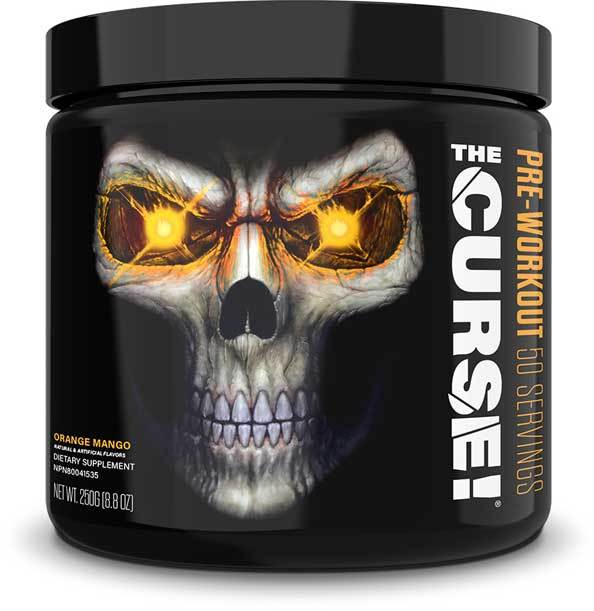 JNX Sports The Curse! Pre-Workout - Orange Mango - 250g (50 Servings)