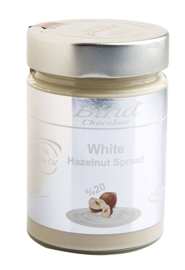 Bind Chocolates: White Hazelnut Spread (350g)