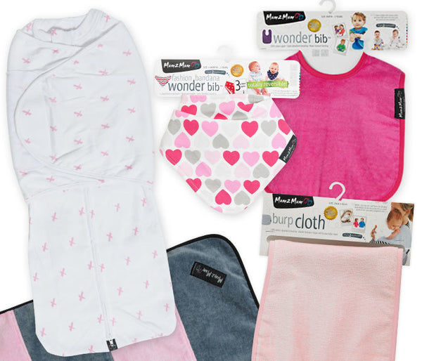 Mum 2 Mum: Dreamswaddle Gift Pack - Pink