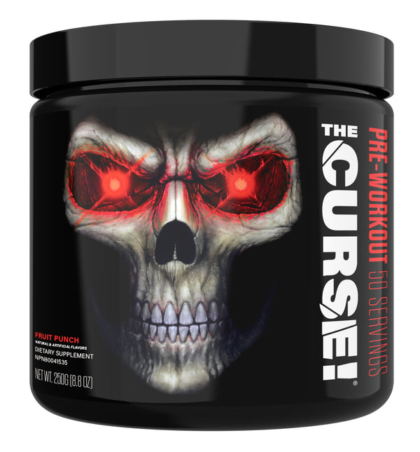 JNX The Curse! Pre-Workout - Fruit Punch (50 Servings)