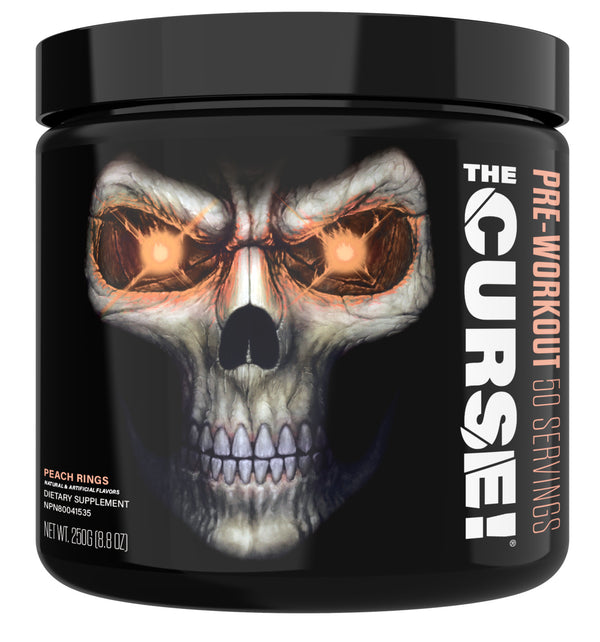 JNX The Curse! Pre-Workout - Peach Rings (50 Servings)