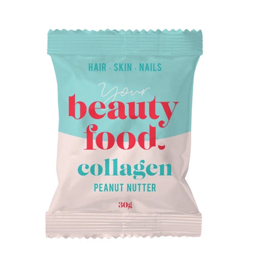 Beauty Food Collagen: Peanut Nutter Snack