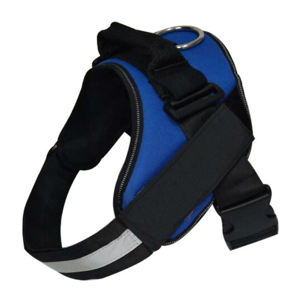 Adjustable Dog Harness - Blue (Small)