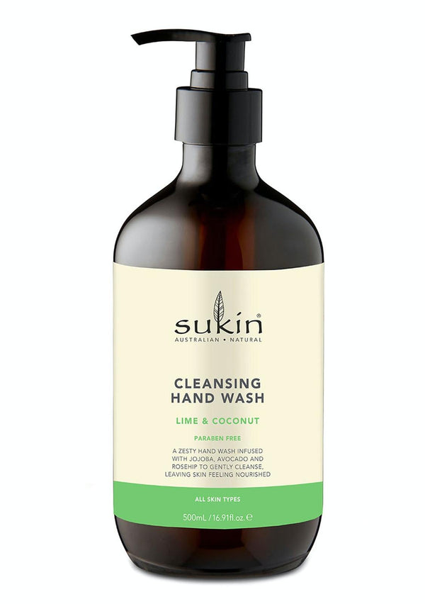 Sukin: Cleansing Hand Wash - Lime & Coconut