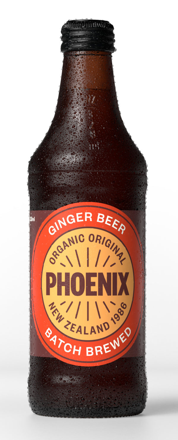 Phoenix Organic: Ginger Beer - 328ml (15-Pack)